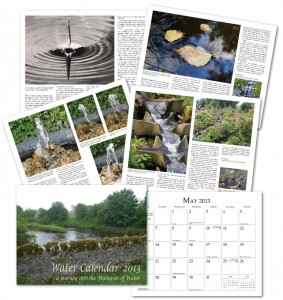 Water Calendar 2013 - Sample pages