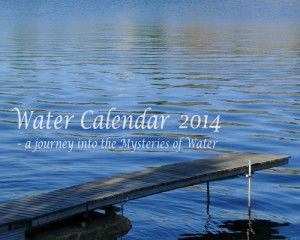 Water Calendar 2014 - Cover pager