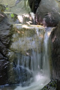 Waterfall steps at Lärjedalen